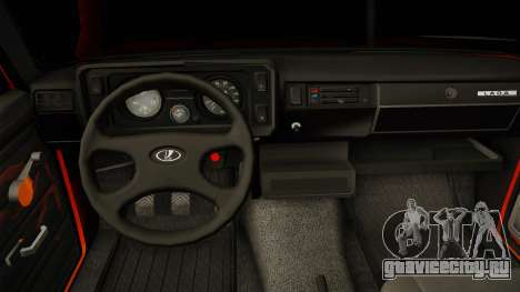 ВАЗ 2105 Пятачок для GTA San Andreas вид изнутри
