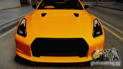 Nissan GT-R R35 2015 для GTA San Andreas вид справа