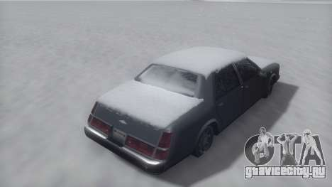 Washington Winter IVF для GTA San Andreas вид справа