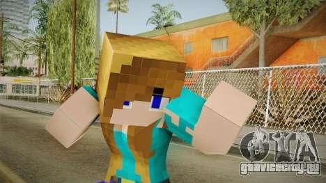 Minecraft - Stephanie для GTA San Andreas