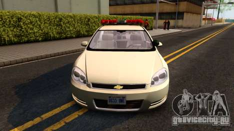 2007 Chevy Impala Bayside Police для GTA San Andreas вид слева