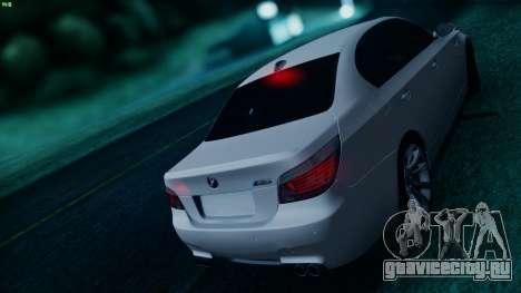 BMW M5 E60 для GTA San Andreas салон