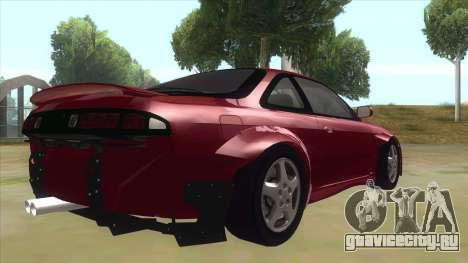 Nissan Silvia S14 Tuned для GTA San Andreas вид справа