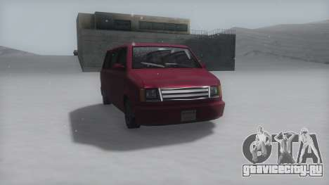 Moonbeam Winter IVF для GTA San Andreas