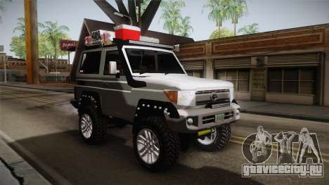 Toyota Land Cruiser Machito 2013 Sound Y для GTA San Andreas вид справа