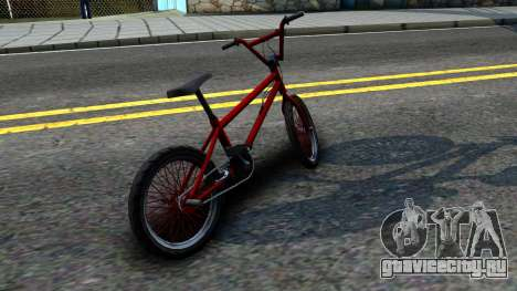 BMX Enhance для GTA San Andreas вид сзади слева