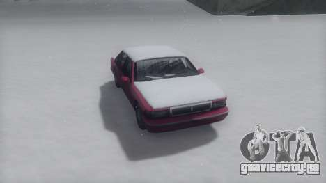 Premier Winter IVF для GTA San Andreas вид сзади слева