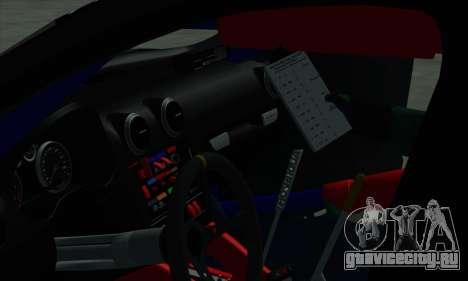 Audi RS3 Sportback Rally WRC для GTA San Andreas колёса