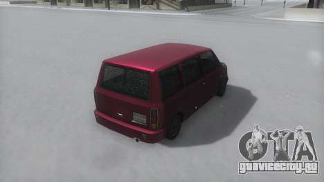 Moonbeam Winter IVF для GTA San Andreas вид справа