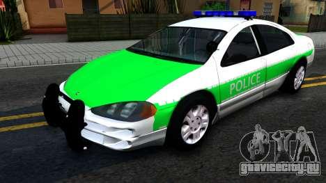 Dodge Intrepid German Police 2003 для GTA San Andreas