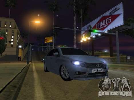 LADA Vesta BPAN для GTA San Andreas