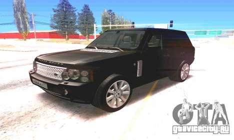 Land Rover 2010 для GTA San Andreas вид слева