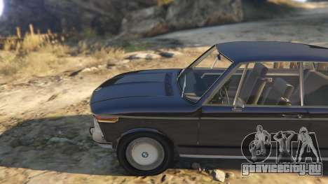 BMW 2002 72 для GTA 5 вид справа