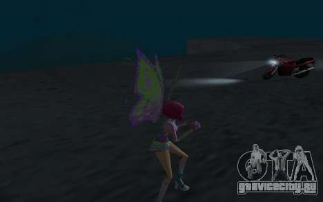 Tecna Believix from Winx Club Rockstars для GTA San Andreas