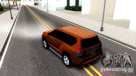 Toyota Land Cruiser Prado для GTA San Andreas вид справа