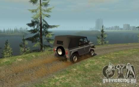 УАЗ 469 (Paul Black prod.) для GTA 4 вид слева