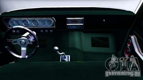 Ford F-350 Plataforma для GTA San Andreas вид изнутри