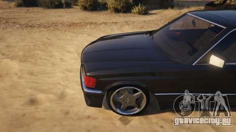 Mercedez-Benz 560 SEC для GTA 5