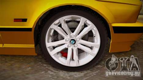 BMW 5-er E34 для GTA San Andreas вид сзади