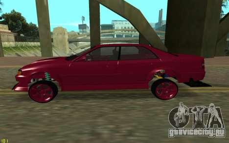 Toyota Chaser Sport для GTA San Andreas вид слева
