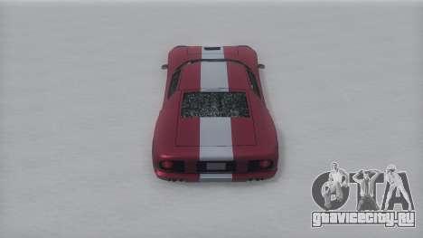 Bullet Winter IVF для GTA San Andreas вид справа