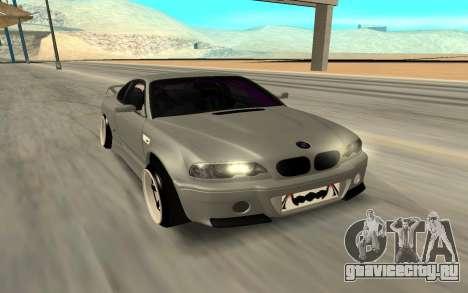 Nissan Silvia S15 Face BMW 46 для GTA San Andreas