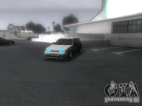 VAZ 2111 Audio для GTA San Andreas вид справа
