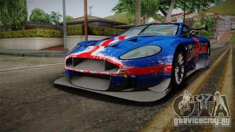 Aston Martin Racing DBRS9 GT3 2006 v1.0.6 для GTA San Andreas колёса