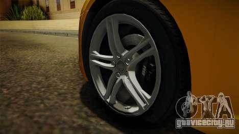 Audi R8 Coupe 4.2 FSI quattro EU-Spec 2008 Dirt для GTA San Andreas вид сзади