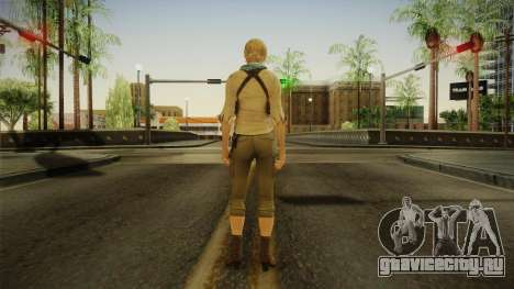 Resident Evil 6 - Sherry School Outfit для GTA San Andreas