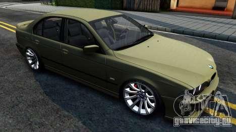 BMW 530D E39 для GTA San Andreas вид слева