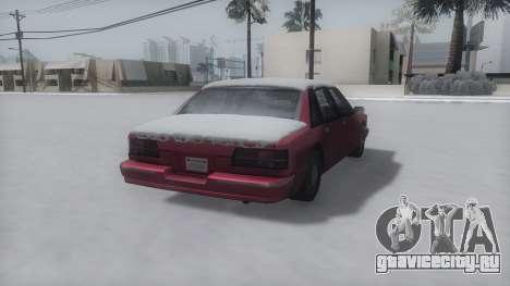Premier Winter IVF для GTA San Andreas вид слева