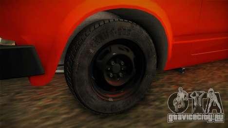 ВАЗ 2105 Пятачок для GTA San Andreas вид сзади