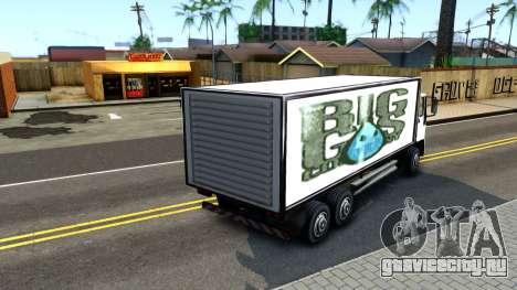 DFT-30 Box Truck для GTA San Andreas вид сзади слева