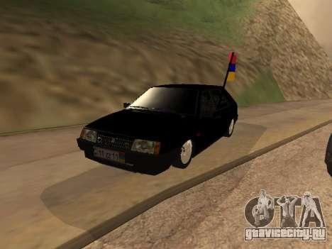 VAZ 2109 Armenian для GTA San Andreas
