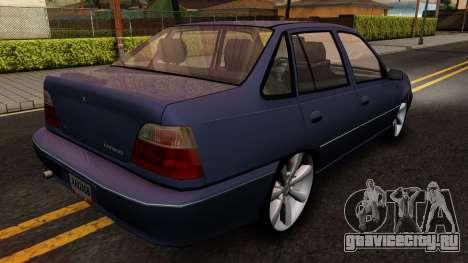 Daewoo Cielo 2001 для GTA San Andreas вид справа