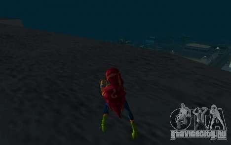 Aisha Rock Outfit from Winx Club Rockstars для GTA San Andreas третий скриншот