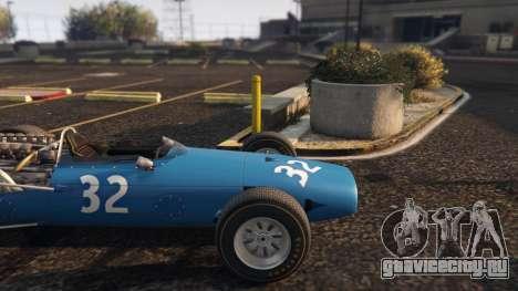Cooper F12 1967 v2 для GTA 5 вид справа