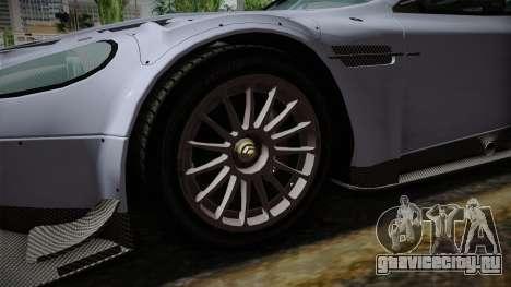 Aston Martin Racing DBR9 2005 v2.0.1 для GTA San Andreas вид сзади