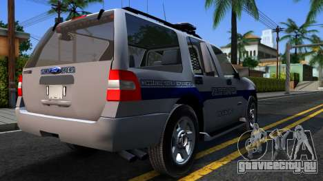 Ford Expedition SAST CVE 2008 для GTA San Andreas вид справа