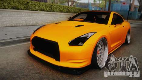 Nissan GT-R R35 2015 для GTA San Andreas