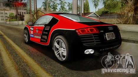 Audi R8 Coupe 4.2 FSI quattro EU-Spec 2008 YCH2 для GTA San Andreas