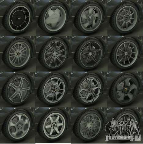 Real Wheels Pack для GTA 5