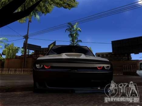 OKA - Dodge 2016 для GTA San Andreas вид слева