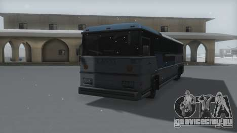 Bus Winter IVF для GTA San Andreas вид справа