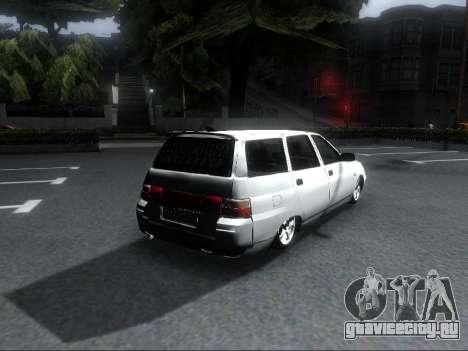 VAZ 2111 Audio для GTA San Andreas вид слева