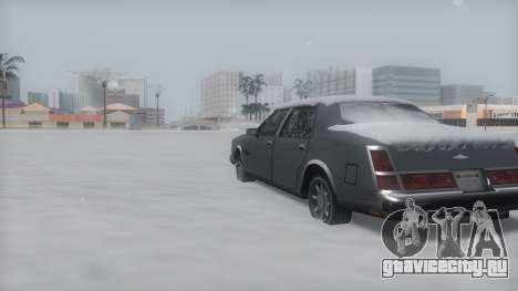 Washington Winter IVF для GTA San Andreas вид сзади слева
