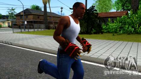 Red Bear Claws Team Fortress 2 для GTA San Andreas второй скриншот