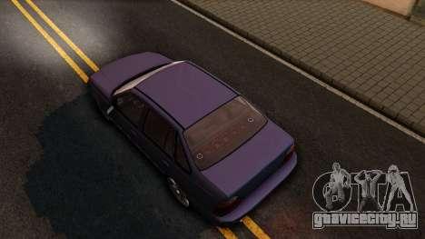 Daewoo Cielo 2001 для GTA San Andreas вид сзади