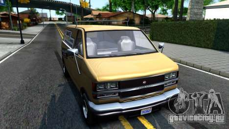 GTA V Declasse Burrito Commercial для GTA San Andreas вид справа